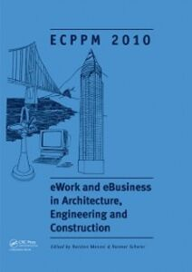 Ebook in inglese eWork and eBusiness in Architecture, Engineering and Construction