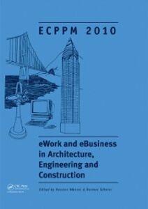 Foto Cover di eWork and eBusiness in Architecture, Engineering and Construction, Ebook inglese di  edito da CRC Press