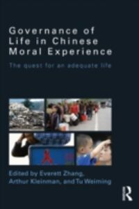 Ebook in inglese Governance of Life in Chinese Moral Experience -, -