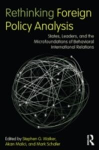 Ebook in inglese Rethinking Foreign Policy Analysis -, -