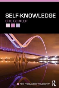 Ebook in inglese Self-Knowledge Gertler, Brie
