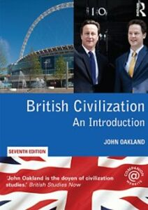 Ebook in inglese British Civilization Oakland, John