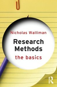 Ebook in inglese Research Methods: The Basics Walliman, Nicholas