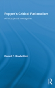 Ebook in inglese Popper's Critical Rationalism Rowbottom, Darrell