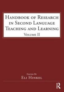 Ebook in inglese Handbook of Research in Second Language Teaching and Learning