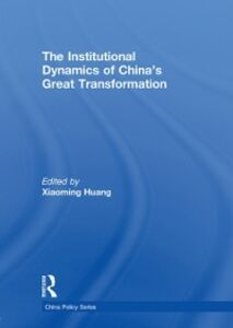 Ebook in inglese Institutional Dynamics of China's Great Transformation