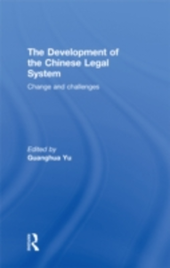 Ebook in inglese Development of the Chinese Legal System -, -