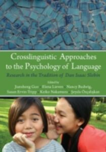Ebook in inglese Crosslinguistic Approaches to the Psychology of Language