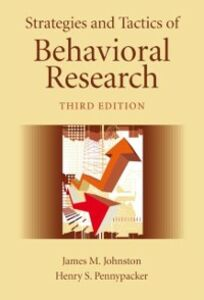 Foto Cover di Strategies and Tactics of Behavioral Research, Third Edition, Ebook inglese di James M. Johnston,Henry S. Pennypacker, edito da