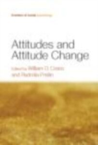 Ebook in inglese Attitudes and Attitude Change -, -