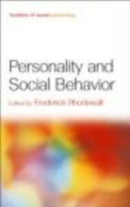 Ebook in inglese Personality and Social Behavior -, -