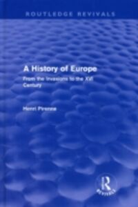 Ebook in inglese History of Europe (Routledge Revivals) Pirenne, Henri
