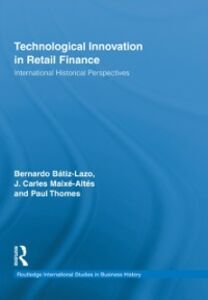 Ebook in inglese Technological Innovation in Retail Finance