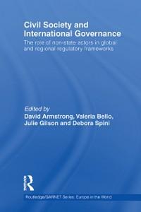 Ebook in inglese Civil Society and International Governance -, -