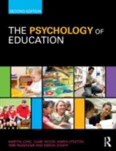 Ebook in inglese Psychology of Education Littleton, Karen , Long, Martyn , Passenger, Terri , Sheehy, Kieron