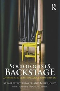 Ebook in inglese Sociologists Backstage Fenstermaker, Sarah , Jones, Nikki