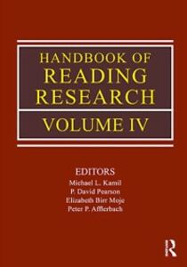 Ebook in inglese Handbook of Reading Research, Volume 4