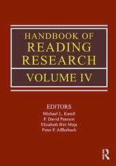 Handbook of Reading Research, Volume 4