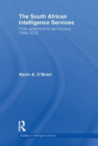 Ebook in inglese South African Intelligence Services O'Brien, Kevin A.