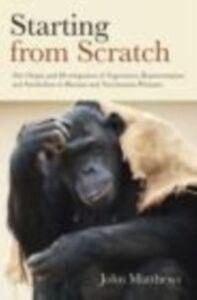 Ebook in inglese Starting from Scratch Matthews, John