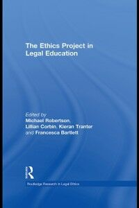 Ebook in inglese Ethics Project in Legal Education -, -