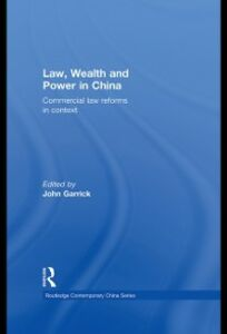 Ebook in inglese Law, Wealth and Power in China