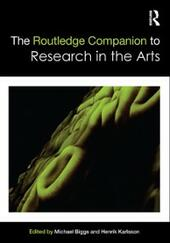 Routledge Companion to Research in the Arts