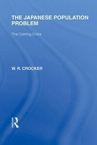 Ebook in inglese Japanese Population Problem Crocker, W R