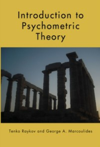 Ebook in inglese Introduction to Psychometric Theory Marcoulides, George A. , Raykov, Tenko