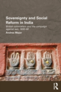 Ebook in inglese Sovereignty and Social Reform in India Major, Andrea