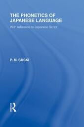 Phonetics of Japanese Language
