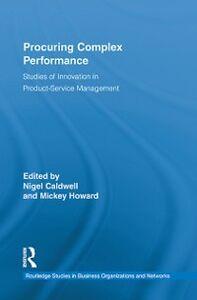 Foto Cover di Procuring Complex Performance, Ebook inglese di  edito da