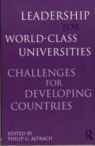 Ebook in inglese Leadership for World-Class Universities