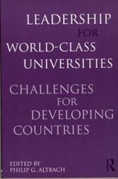 Leadership for World-Class Universities