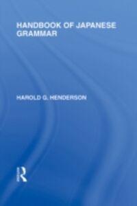 Ebook in inglese Handbook of Japanese Grammar Henderson, Harold G