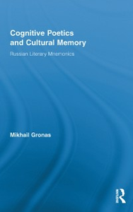 Ebook in inglese Cognitive Poetics and Cultural Memory Gronas, Mikhail