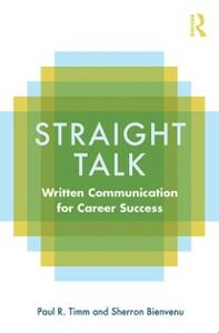Ebook in inglese Straight Talk Bienvenu, Sherron , Timm, Paul R.