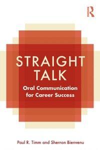 Ebook in inglese Straight Talk Bienvenu, Sherron , Timm, Paul R.