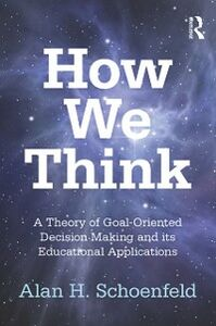 Ebook in inglese How We Think Schoenfeld, Alan H.