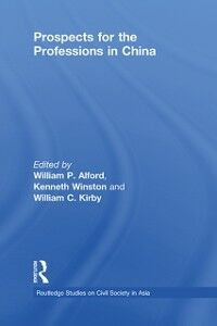 Ebook in inglese Prospects for the Professions in China -, -