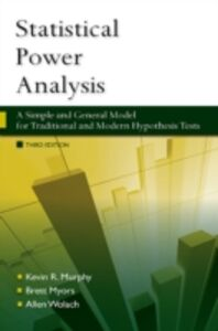 Ebook in inglese Statistical Power Analysis Murphy, Kevin , Myors, Brett , Wolach, Allen