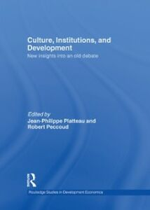 Ebook in inglese Culture, Institutions, and Development