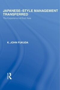 Ebook in inglese Japanese-Style Management Transferred Fukuda, K J