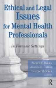 Ebook in inglese Ethical and Legal Issues for Mental Health Professionals -, -