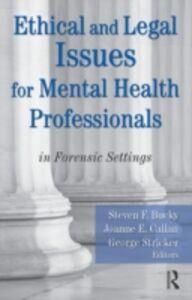Foto Cover di Ethical and Legal Issues for Mental Health Professionals, Ebook inglese di  edito da
