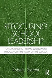 Ebook in inglese Refocusing School Leadership Starratt, Robert J.