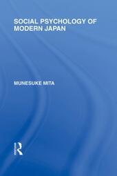 Social Psychology of Modern Japan