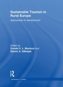 Ebook in inglese Sustainable Tourism in Rural Europe -, -