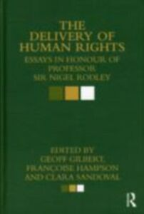 Ebook in inglese Delivery of Human Rights -, -