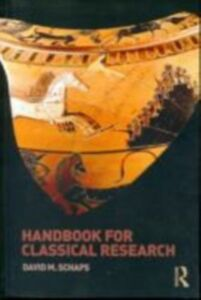 Ebook in inglese Handbook for Classical Research Schaps, David M.